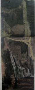 21. Soft pastel on paper. 60x140cm. January 2014