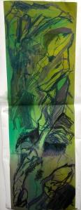 22. Soft pastel on paper. 60x140cm. January 2014