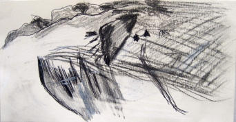 Place I. 2014. Pencil on paper