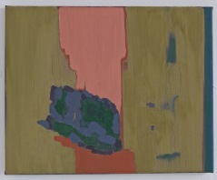 History of Rocks, study II. Oil on canvas. 40x50cm