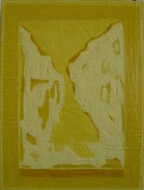 Vision of Landscape I_oil & pigment on plywood_40x30cm