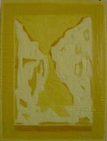 Vision of Landscape I_oil & pigment on plywood_40x30cm