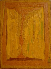Vision of Landscape III_oil & pigment on plywood_40x30cm