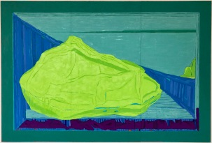 Sense of Place I_oil & pigment on plywood panels_122cmx180cm