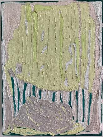 Rockscape_oil & pigment on plywood_40cmx30cm