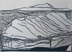 Unconscious Place (study)_charcoal on paper_25x45cm