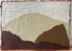Unconscious Place 3_oil & pigments on paper_16x20cm