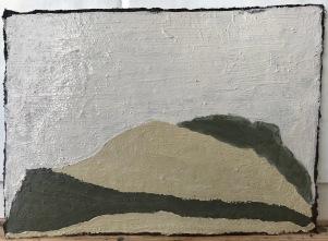 Unconscious Place 2_oil & pigments on paper_16x20cm