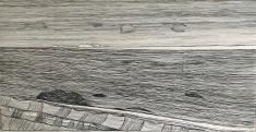 Unconscious Place 2_charcoal on paper_63x123cm